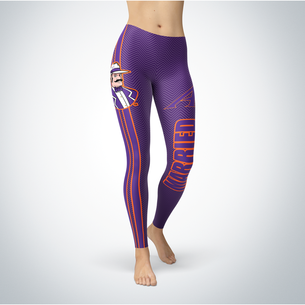 Married Design - University of Evansville Leggings Front picture