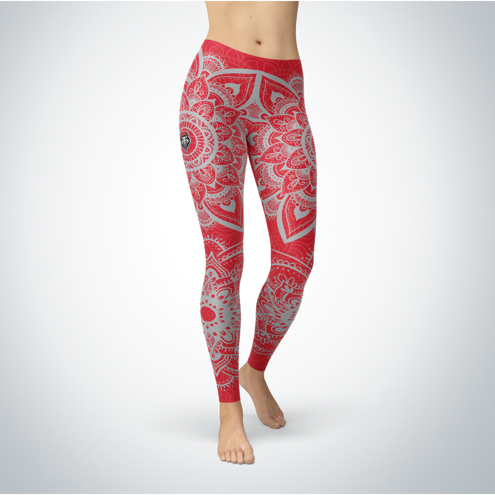 Mandala - New Mexico Lobos Leggings Front picture