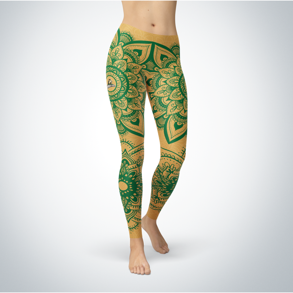 Mandala - Wright State Raiders  Leggings Front picture