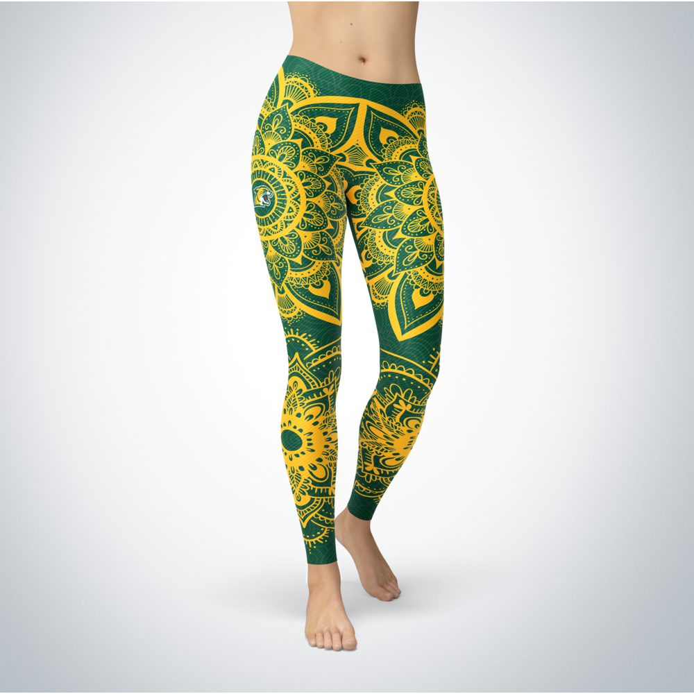 Mandala - Northern Michigan Wildcats Leggings Front picture