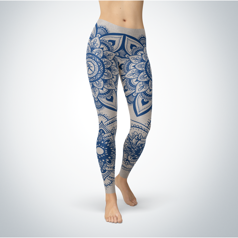 Mandala - Washburn Ichabods Leggings Front picture