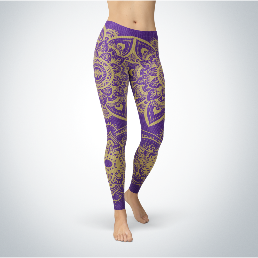 Mandala - North Alabama Lions Leggings Front picture