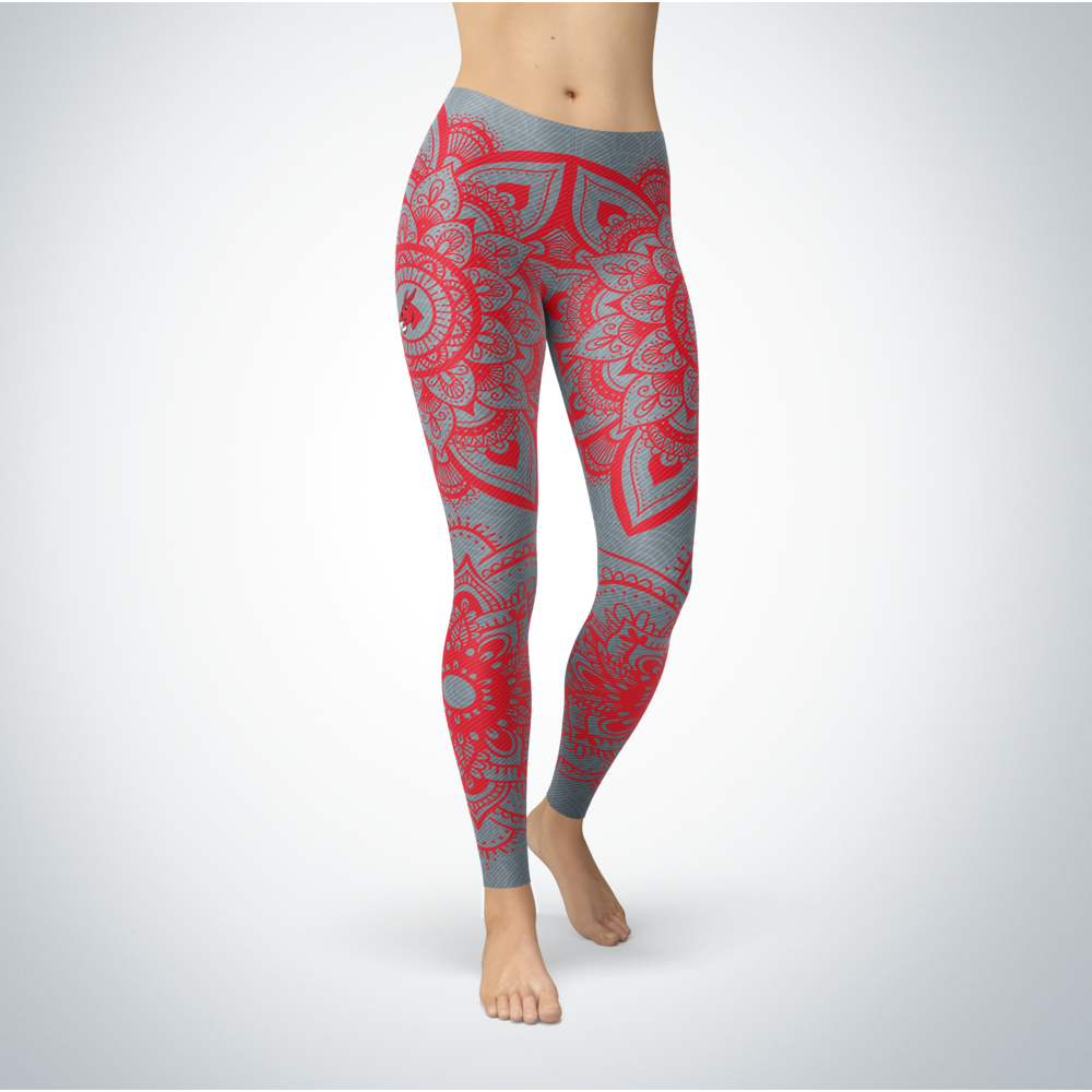 Mandala - Central Missouri Mules Leggings Front picture