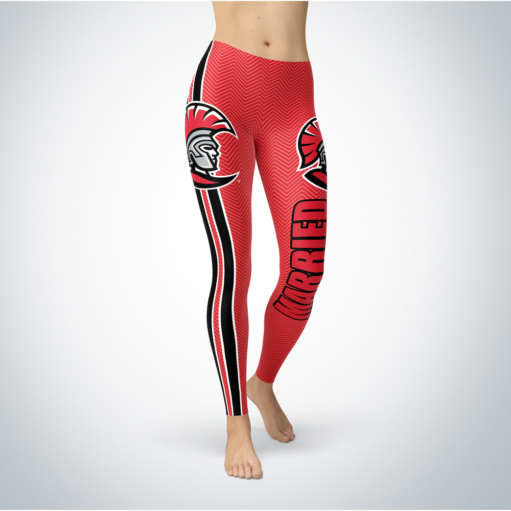 Married Design - Tampa Spartans Leggings Front picture
