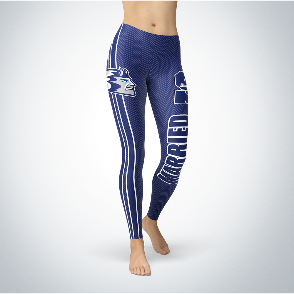 Married Design - University of Wisconsin-Stout Leggings Front picture