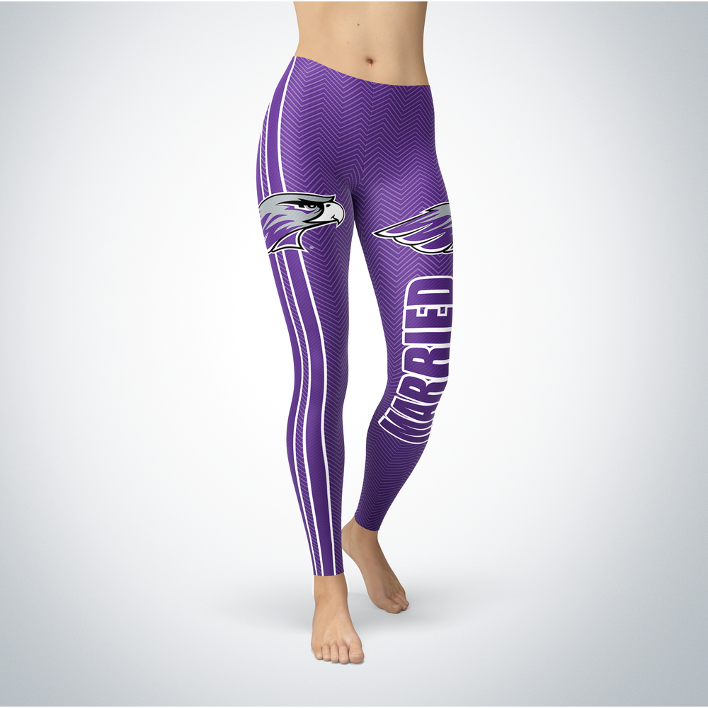 Married Design - University of Wisconsin-Whitewater Leggings Front picture