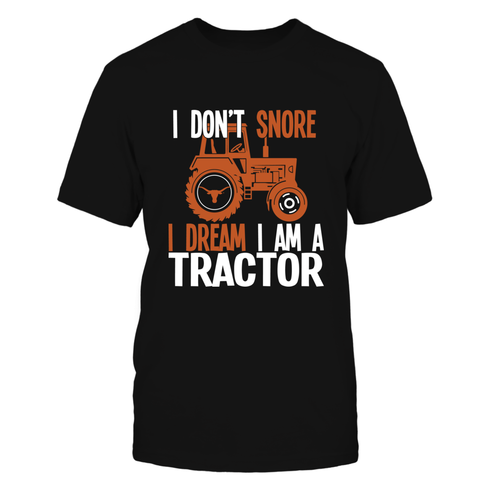 Texas Longhorns - Farmer - Dream - A Tractor Front picture