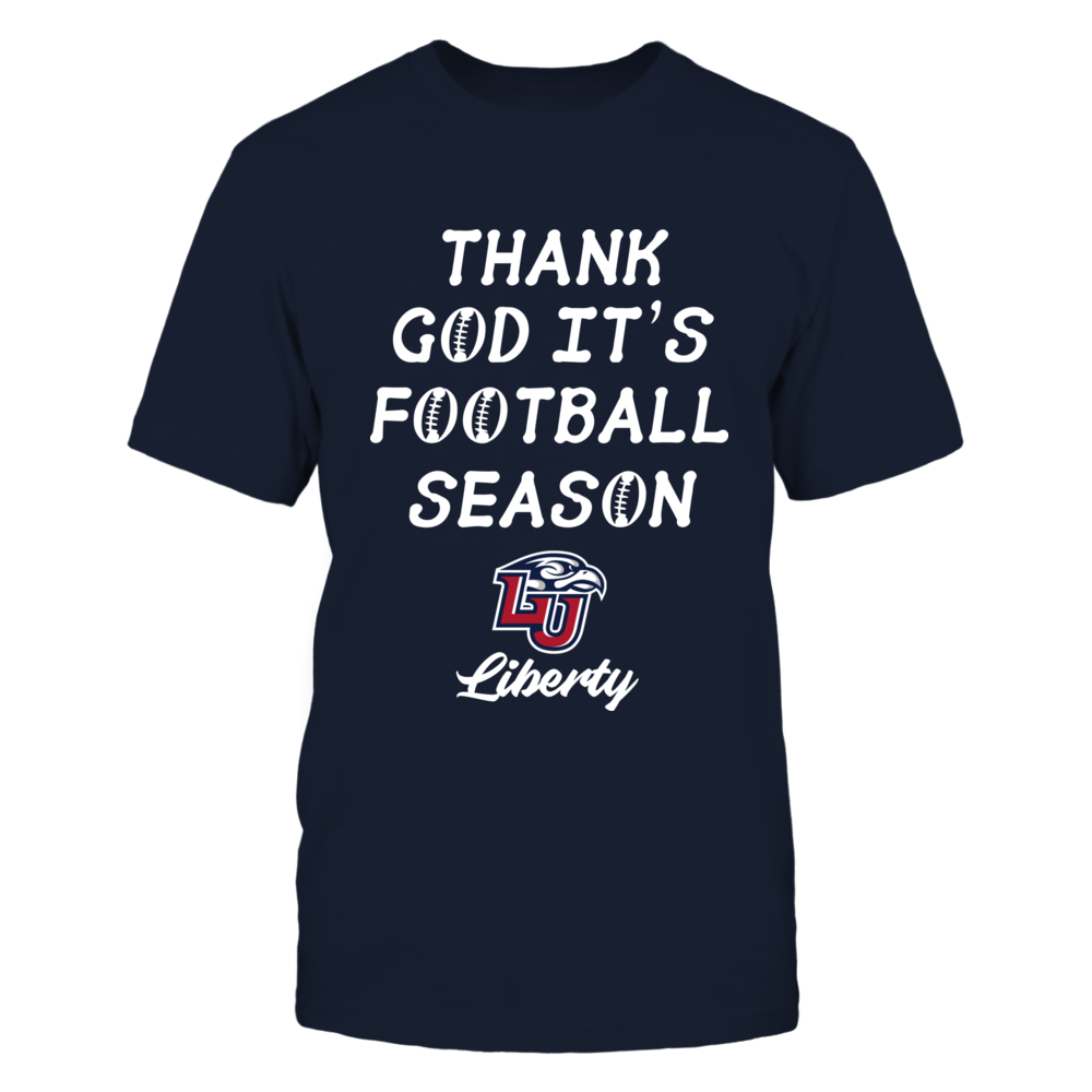 Liberty Flames - Thank God It's Football Season Front picture