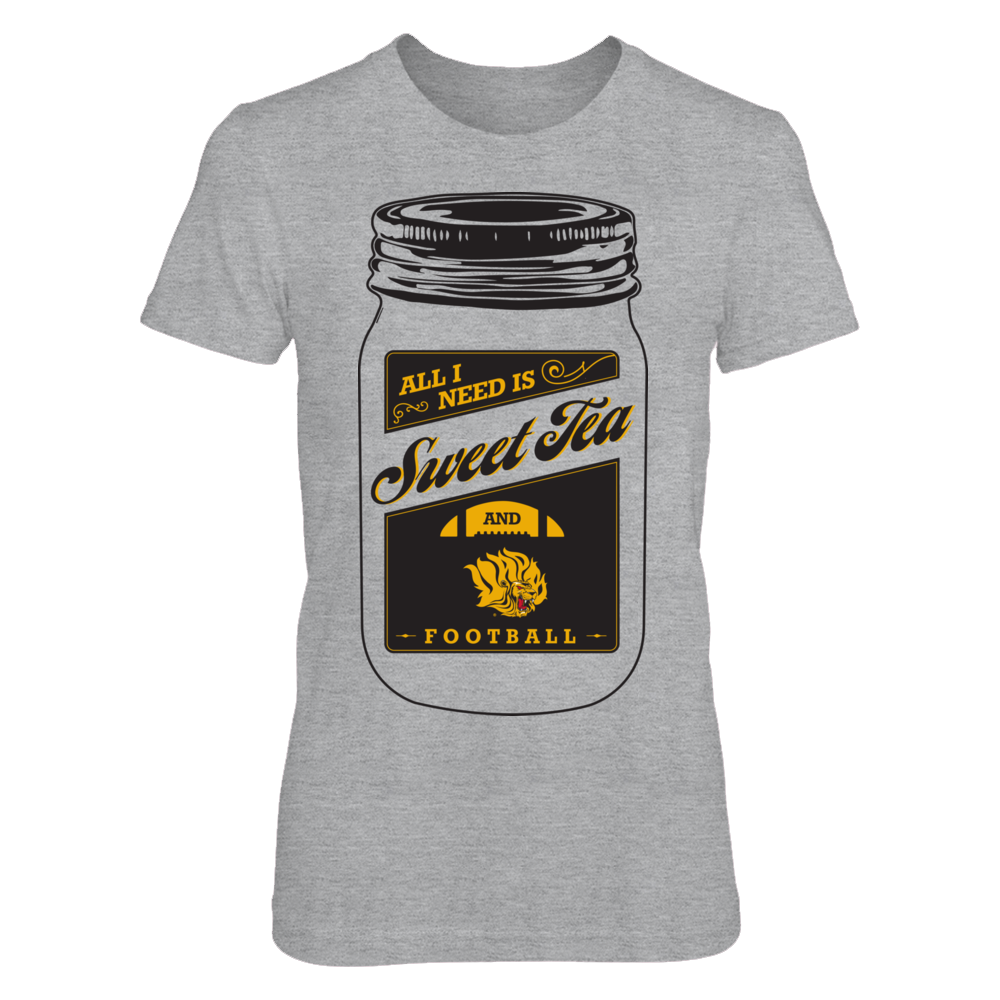 Arkansas Pine Bluff Golden Lions - Sweet Tea Front picture