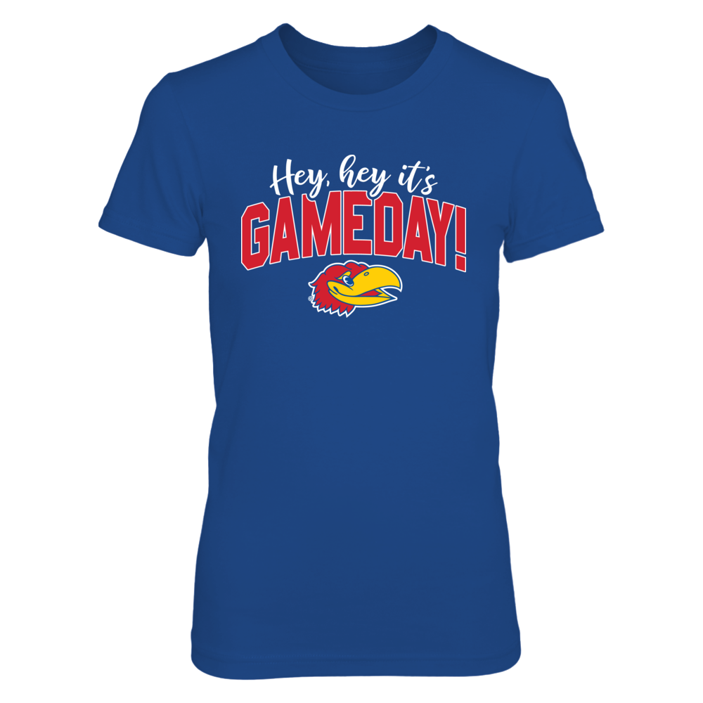 Hey, Hey It's Gameday Kansas Jayhawks T-Shirt | Tank Front picture