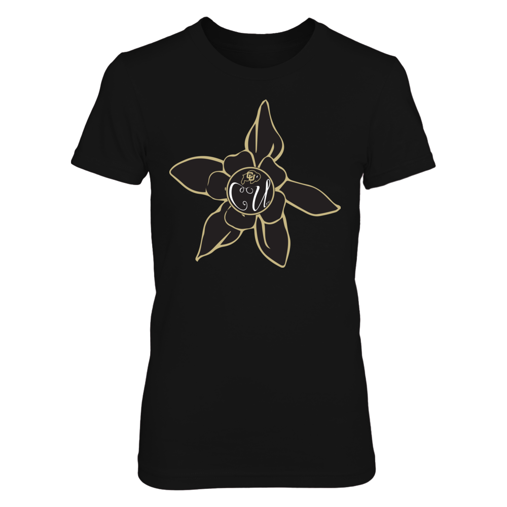 Colorado Buffaloes - Flower Monogram Front picture