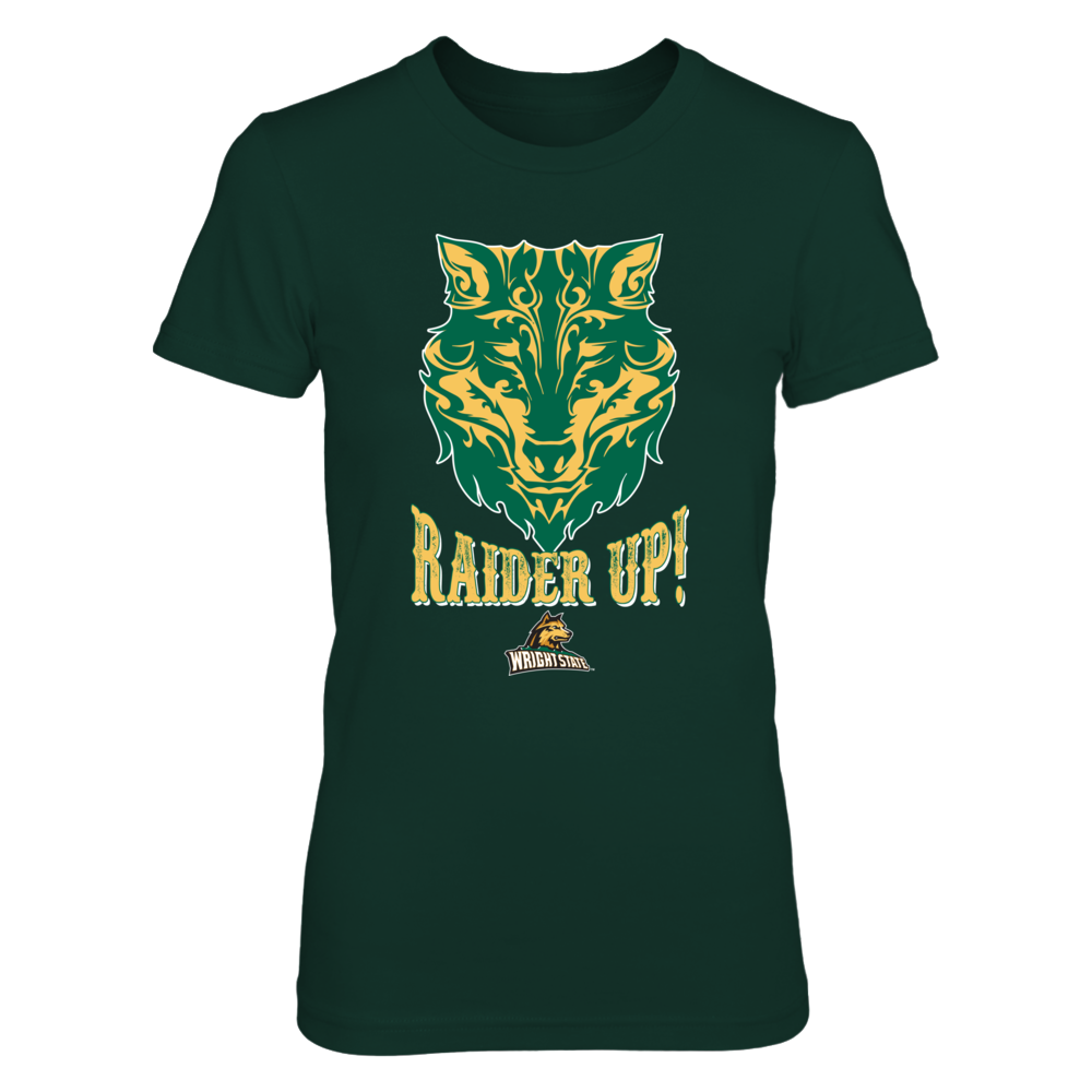 Wright State Raiders - Pattern Wolf Face Front picture