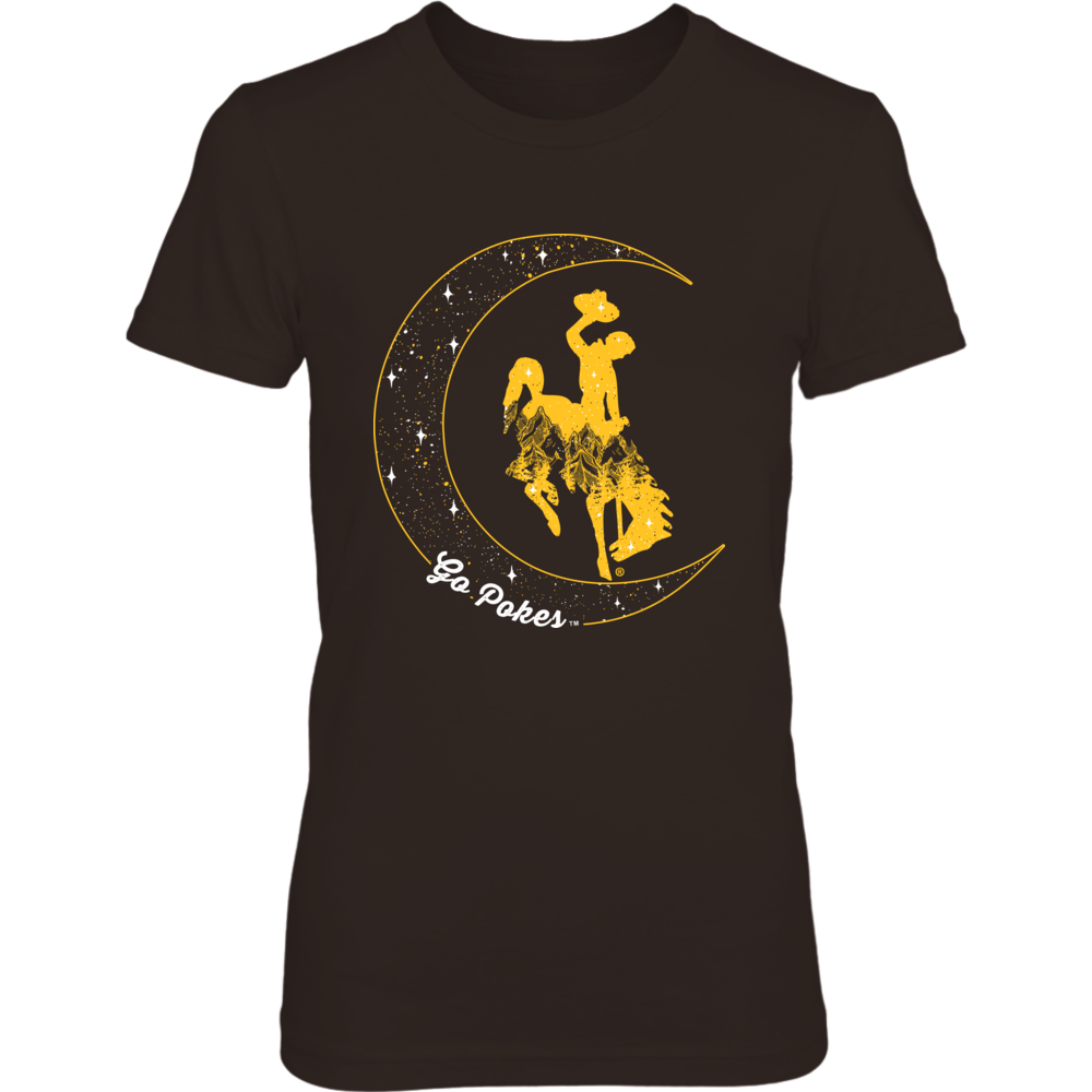 Wyoming Cowboys - Mountain Mascot Moon Front picture