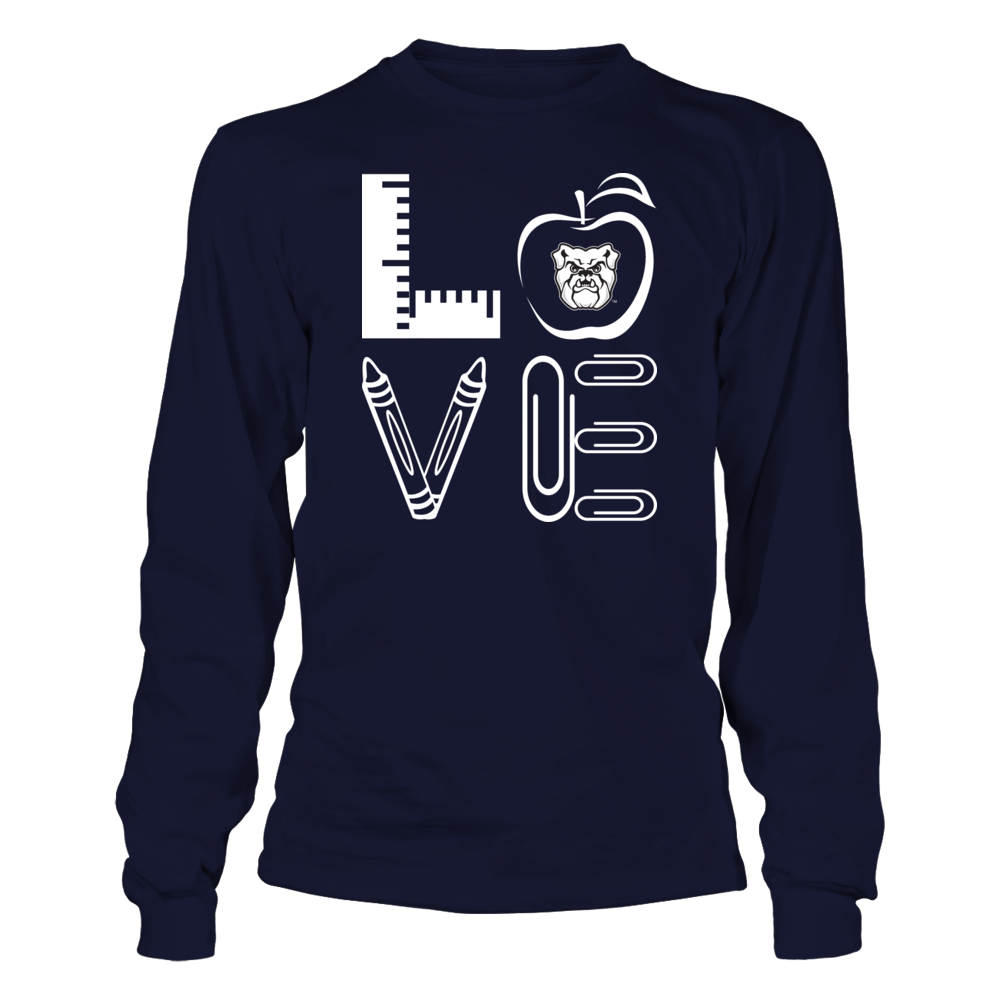 Butler Bulldogs - Stacked Love - Teacher Things Front picture