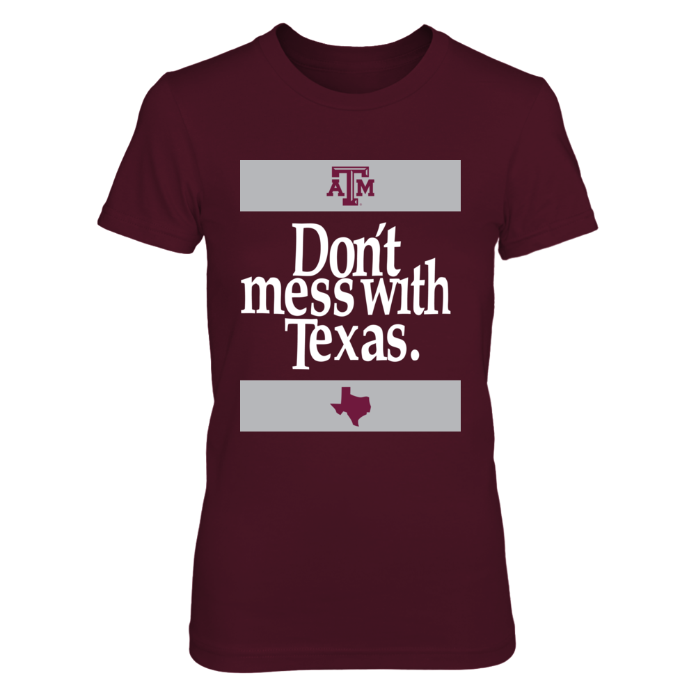 Texas A&M Aggies - Don't Mess With Football Texas Front picture