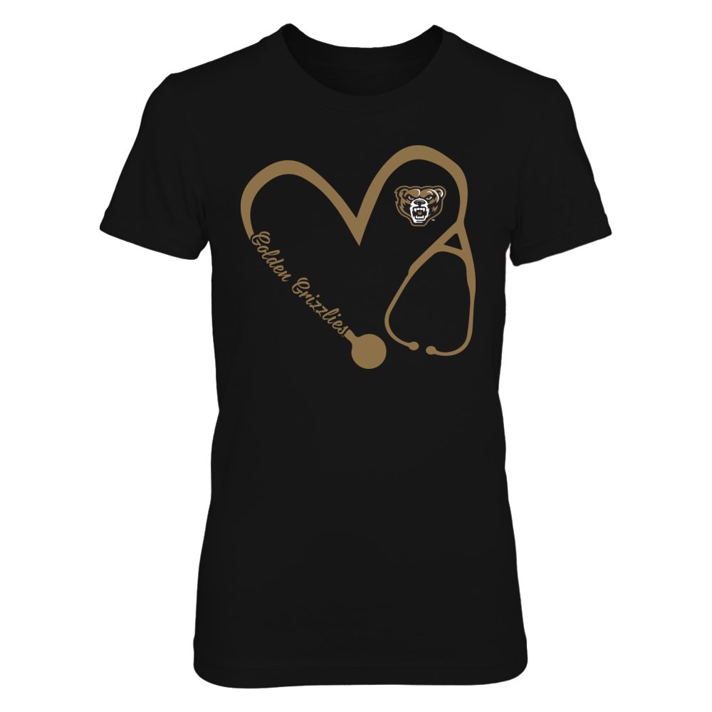 Oakland Golden Grizzlies - Heart 3/4 - Nurse Front picture