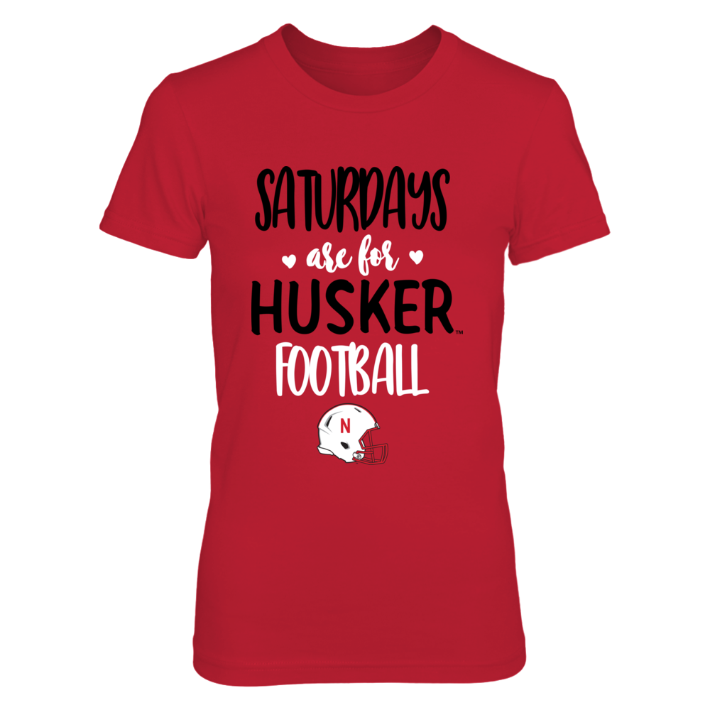 Nebraska Cornhuskers - Saturdays Are For Football - IF-IC13-DS33 Front picture