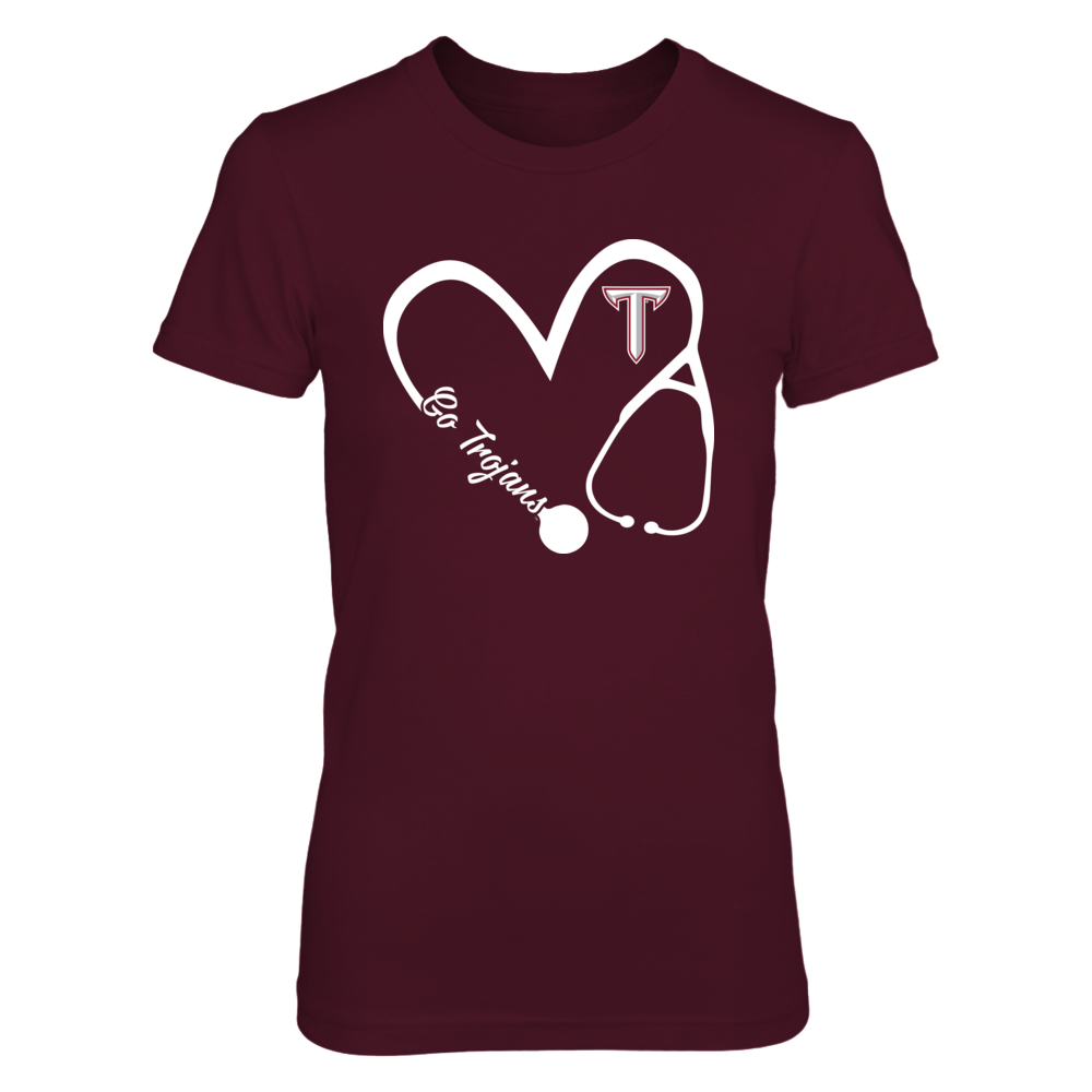 Troy Trojans - Heart 3/4 - Nurse Front picture