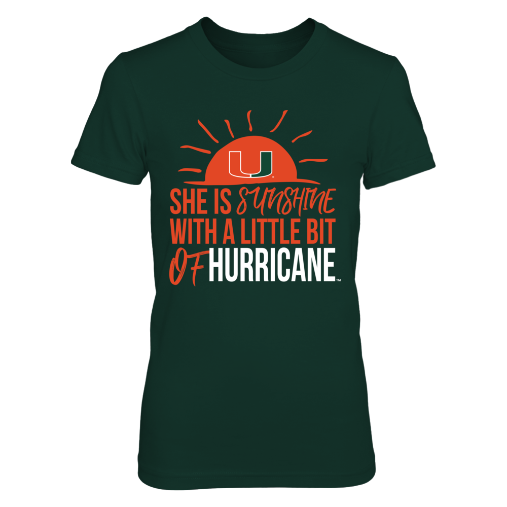 Miami Hurricanes - Sunshine Of Hurricane Front picture
