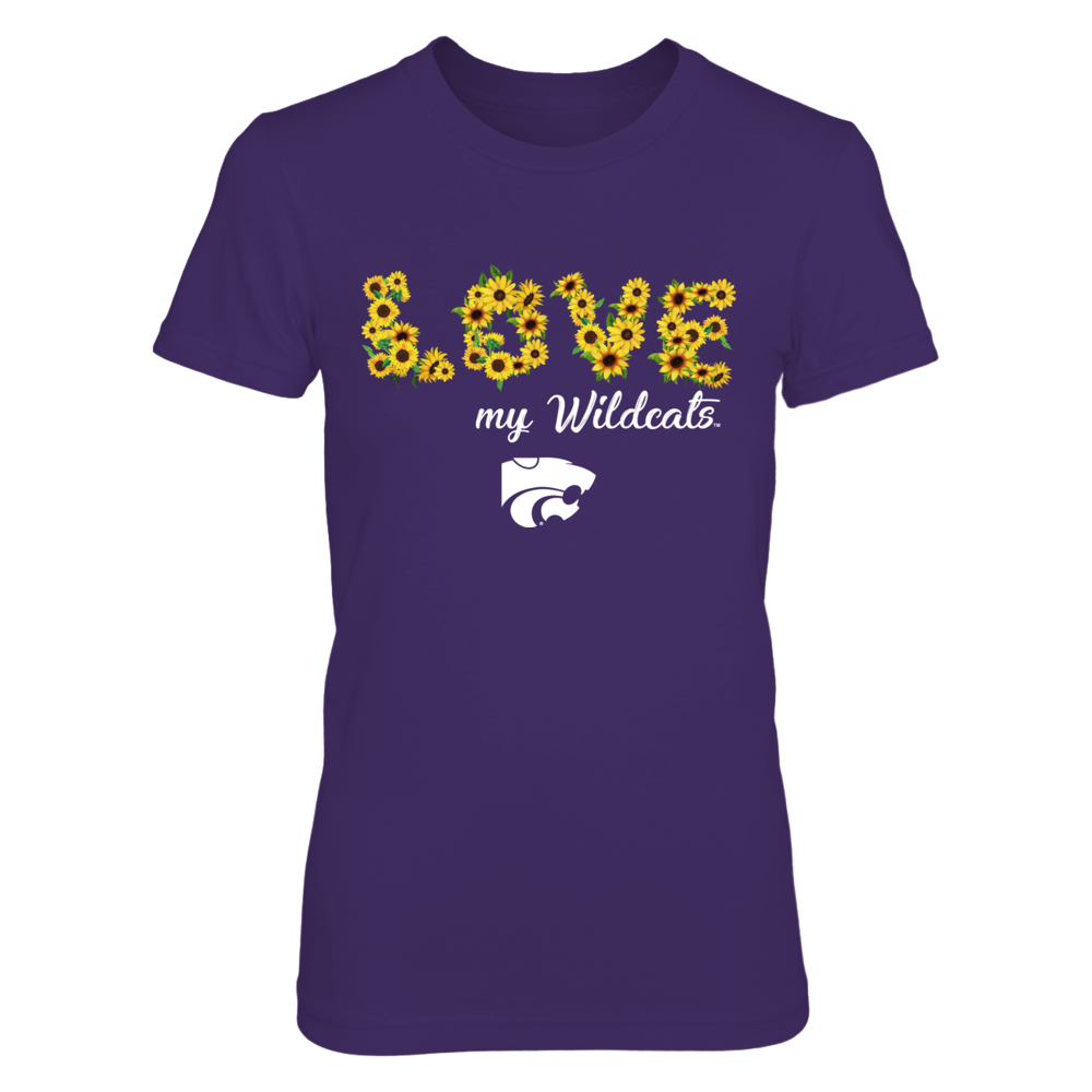 Kansas State Wildcats - Love My Team - Sunflower Front picture