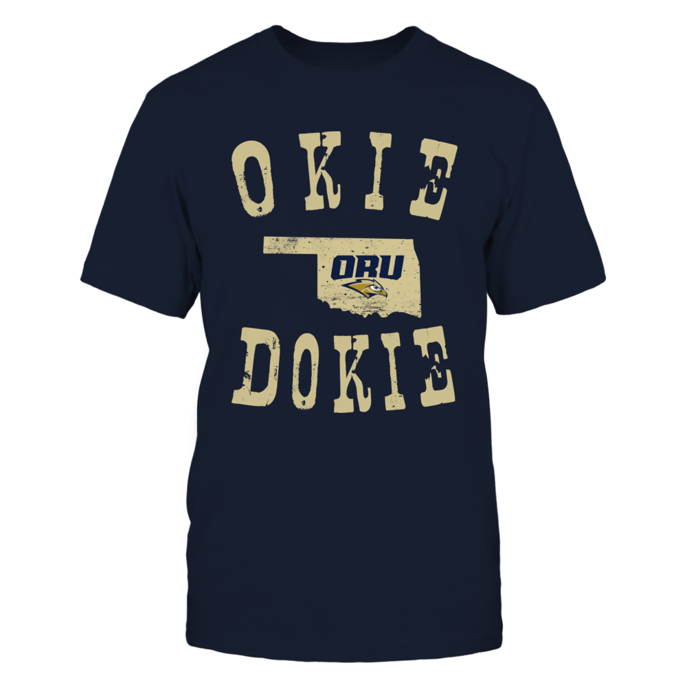 Oral Roberts Golden Eagles - Okie Dokie Front picture