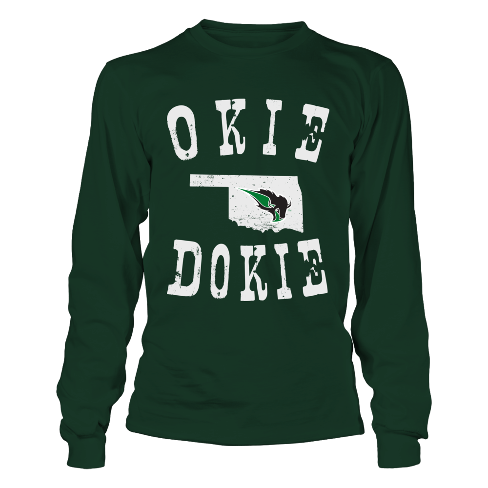 Oklahoma Baptist Bison - Okie Dokie Front picture