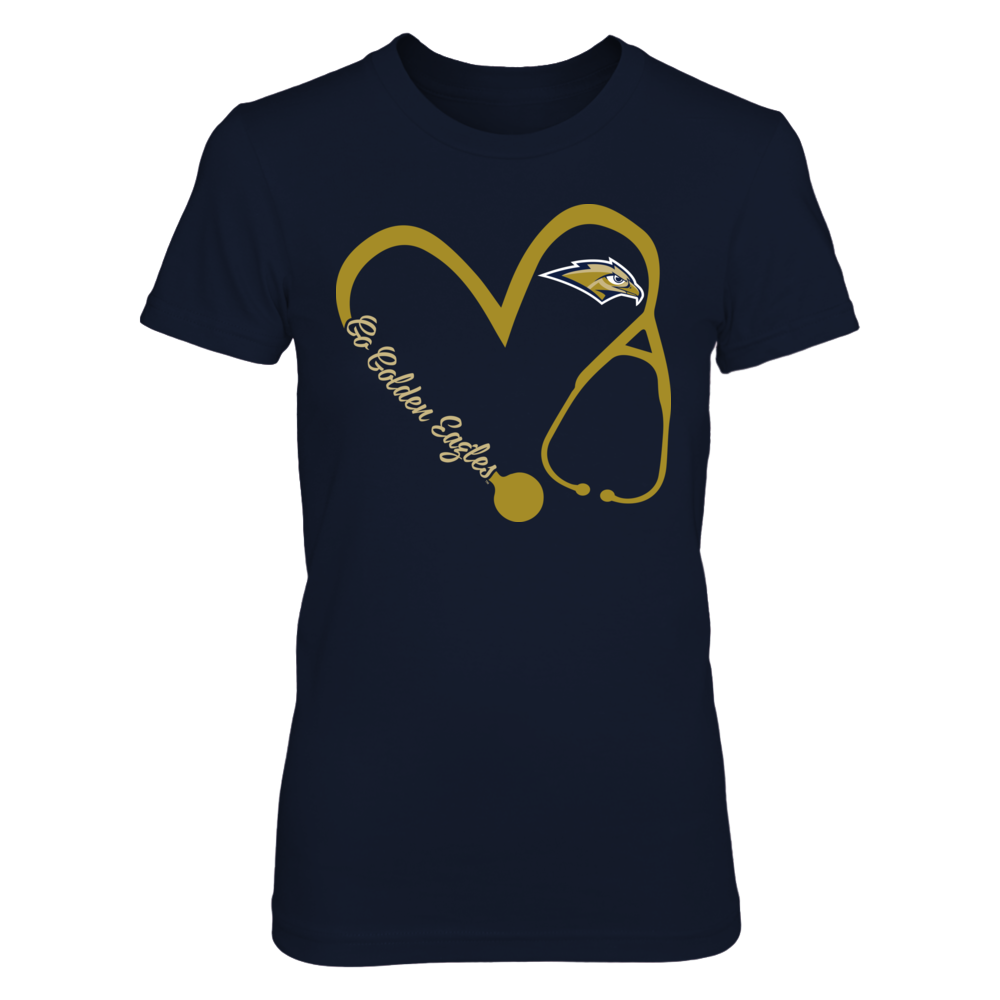 Oral Roberts Golden Eagles - Heart 3/4 - Nurse Front picture