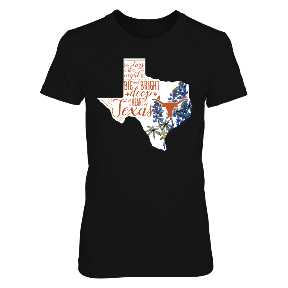 Texas Longhorns - Flower Texas Front picture