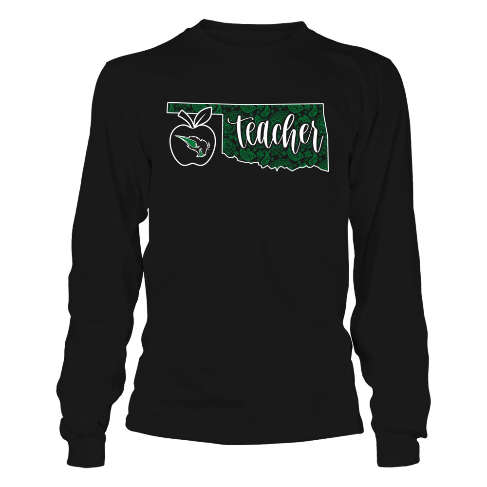 Oklahoma Baptist Bison - Teacher - Oklahoma Teacher Front picture
