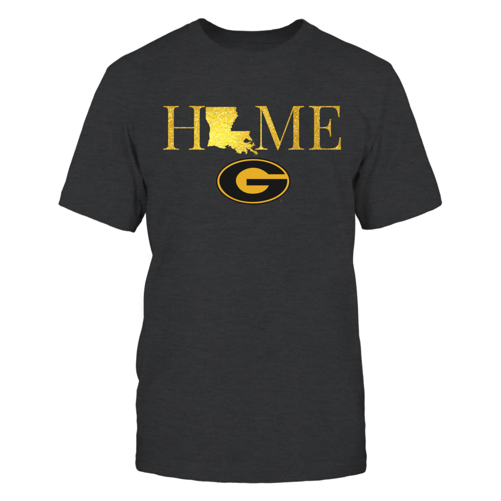 Louisiana Home in Shiny Gold - Grambling State Tigers Front picture