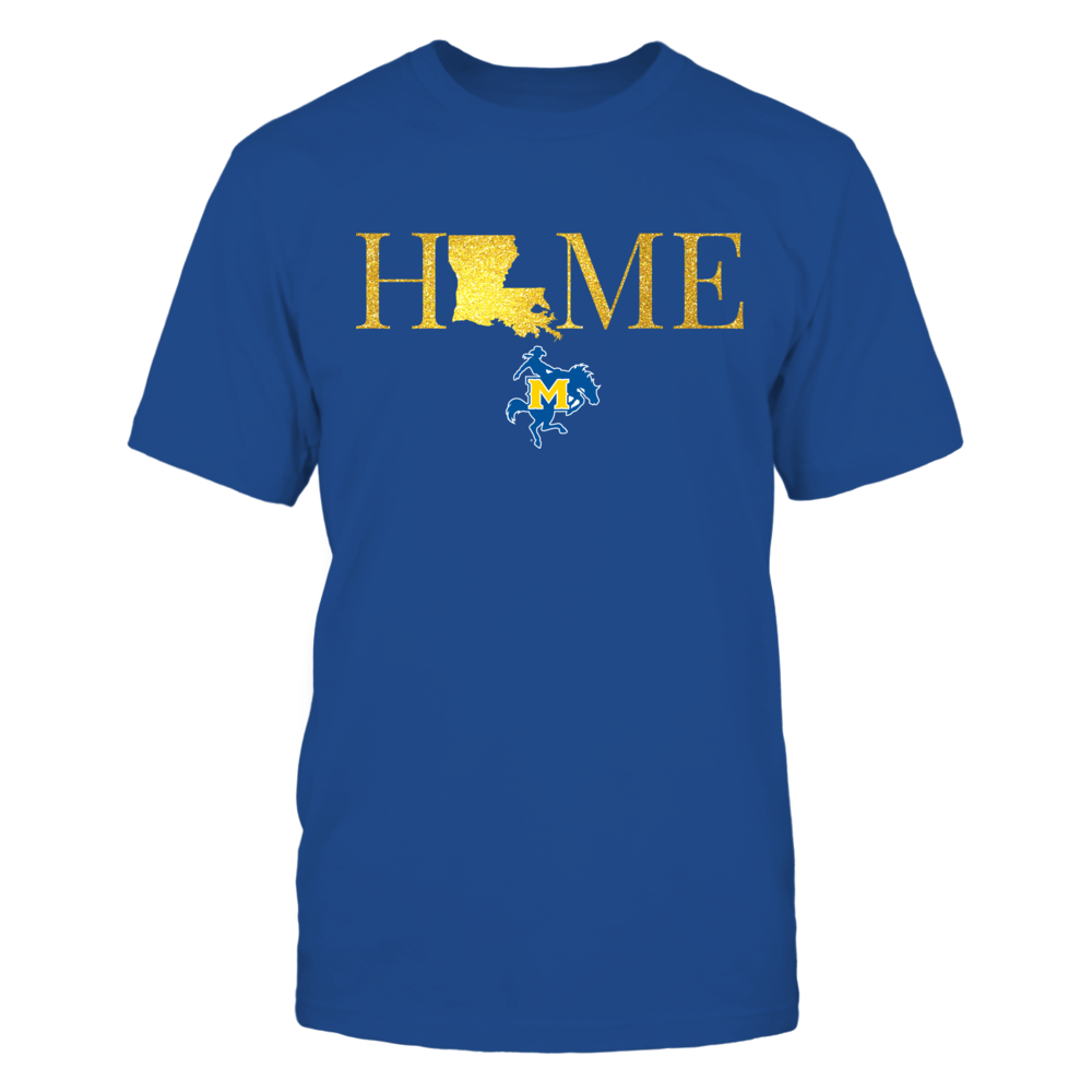 Louisiana Home in Glittering Gold - McNeese State Cowboys Front picture