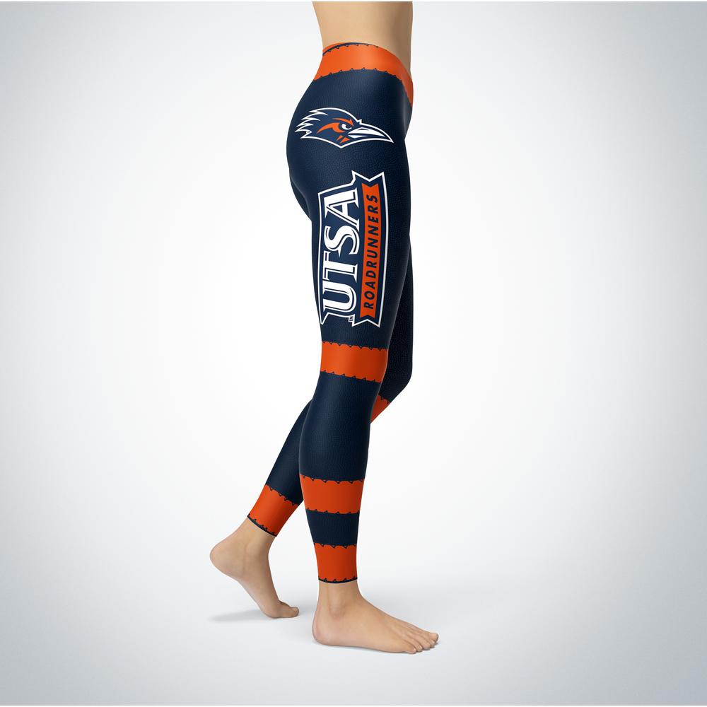 Football Design UTSA Roadrunners Leggings Front picture