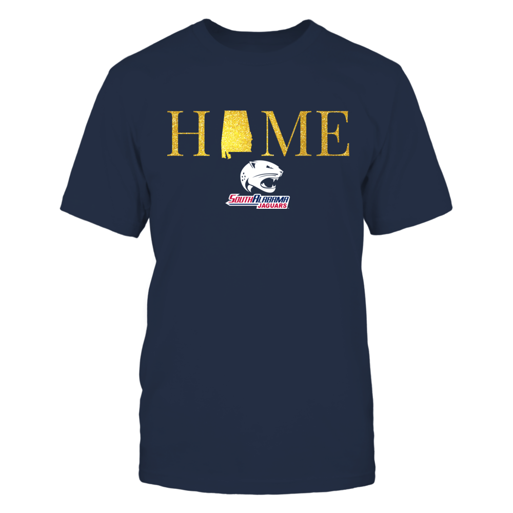 Alabama Home in Glittering Gold - South Alabama Jaguars Front picture