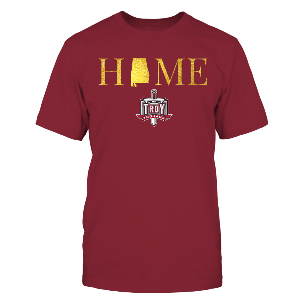 Alabama Home in Glittering Gold - Troy Trojans Front picture
