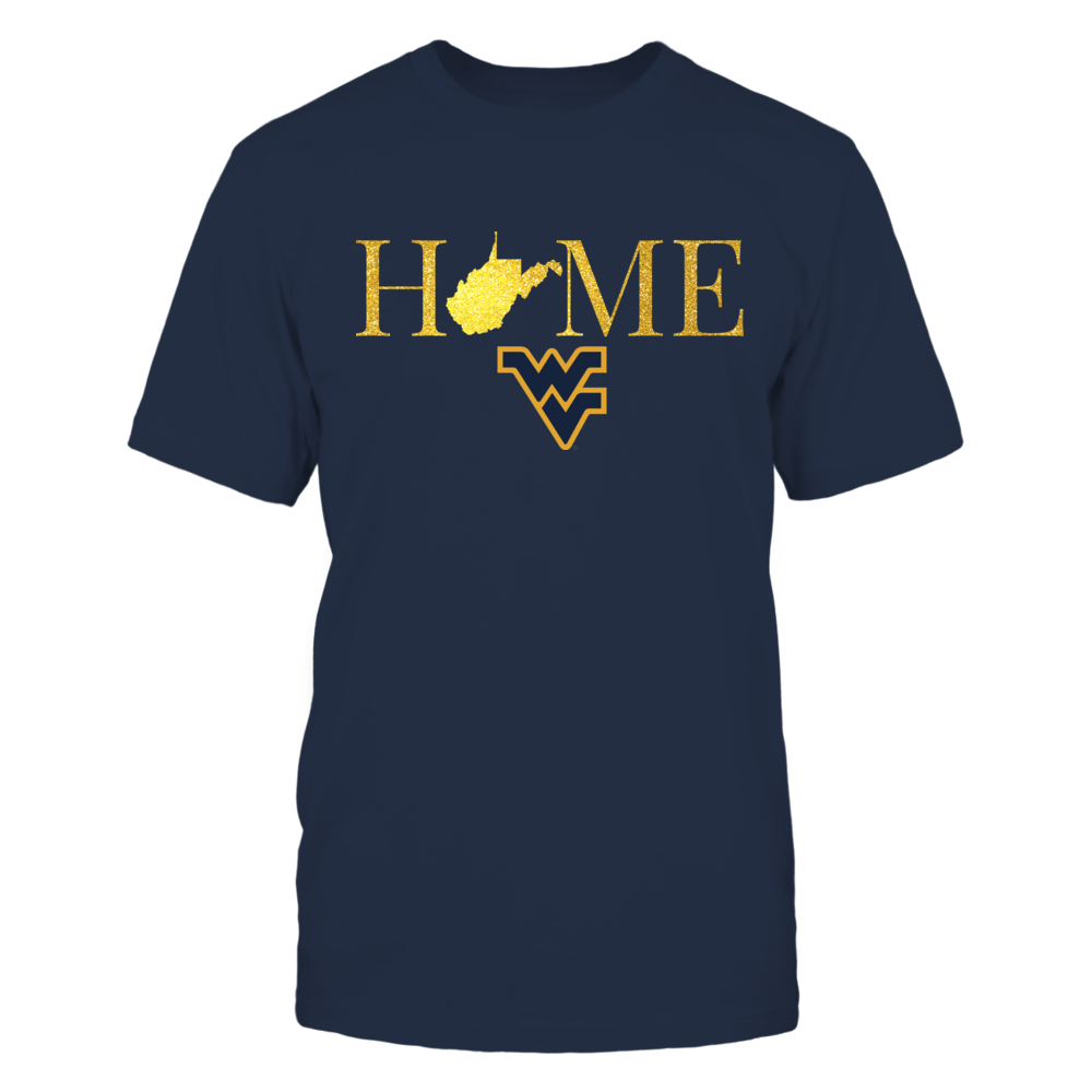 West Virginia Home in Shiny Gold - West Virginia Mountaineers Front picture