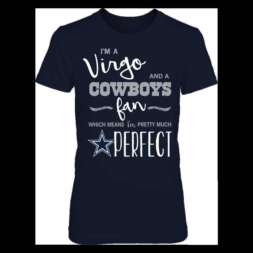 Perfect Virgo Dallas Cowboys Fan T-Shirt | Tank Front picture