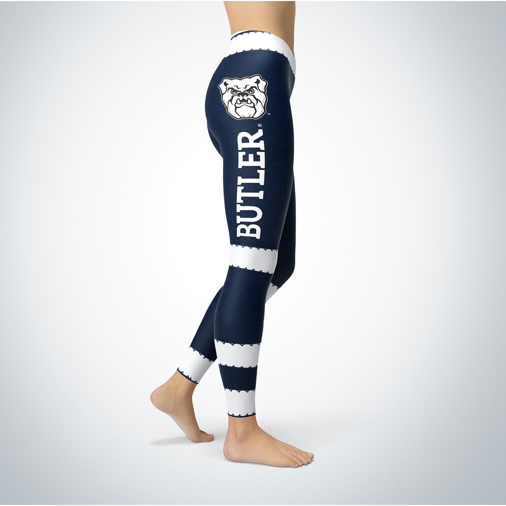 Football Design Butler Bulldogs Leggings Front picture