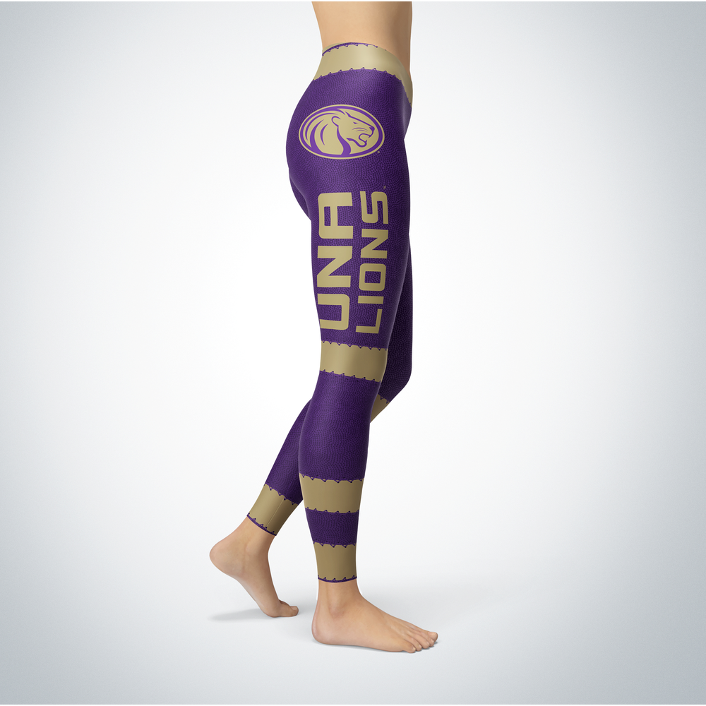Football Design North Alabama Lions Leggings Front picture