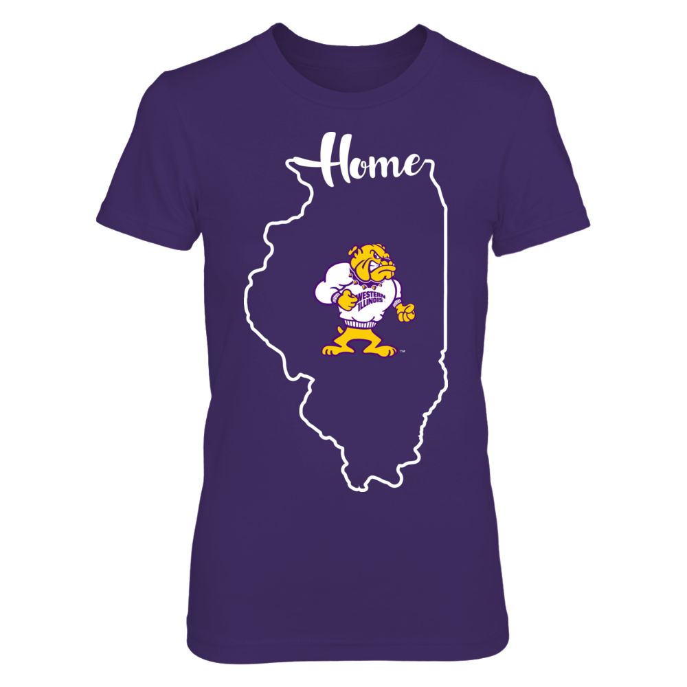 Western Illinois Leathernecks - State Outline Front picture