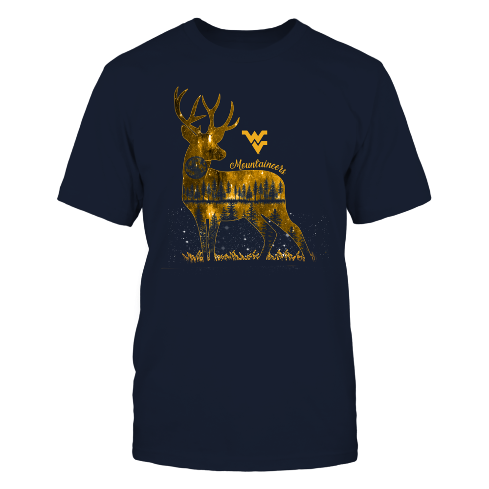 West Virginia Mountaineers - Hunting - Moon Deer Front picture