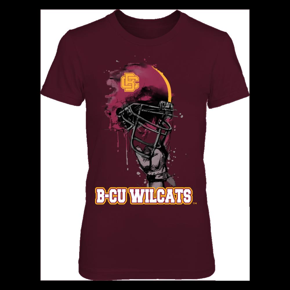 Bethune-Cookman Wildcats - Rising Helmet Front picture