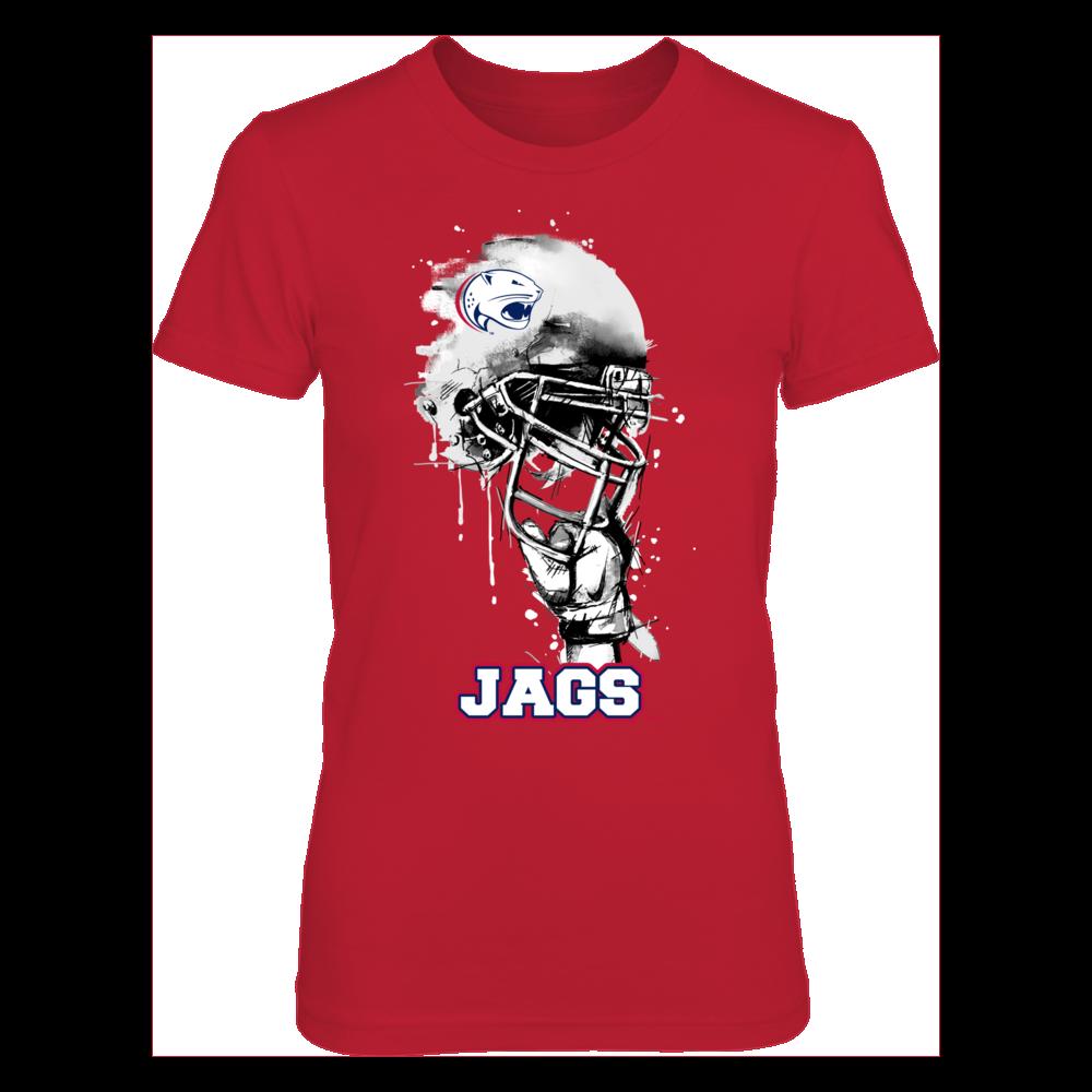 South Alabama Jaguars - Rising Helmet Front picture