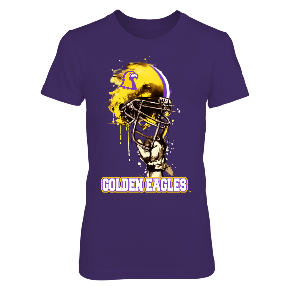 Tennessee Tech Golden Eagles - Rising Helmet Front picture