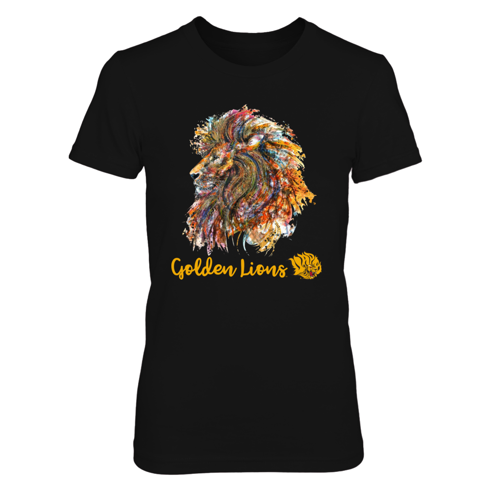 Arkansas Pine Bluff Golden Lions - Colorful Lion Front picture
