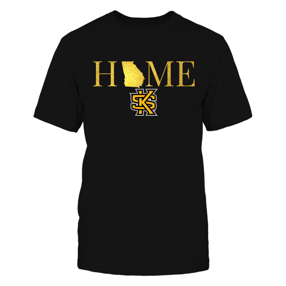 Kennesaw State Owls Georgia Home in Glittering Gold - Kennesaw State Owls FanPrint
