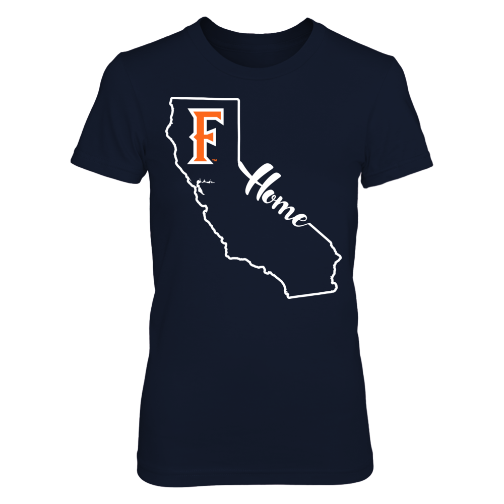 Cal State Fullerton Titans - State Outline Front picture