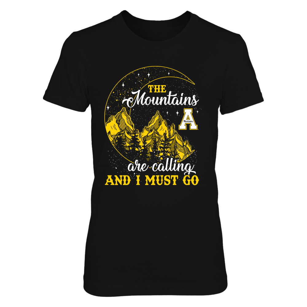 Appalachian State Mountaineers - Mountain Moon - The Mountains Are Calling Front picture