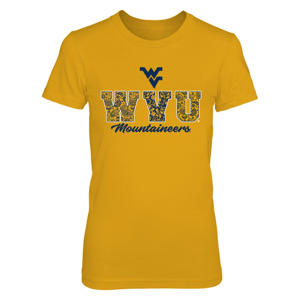 West Virginia Mountaineers - Patterned WVU Front picture