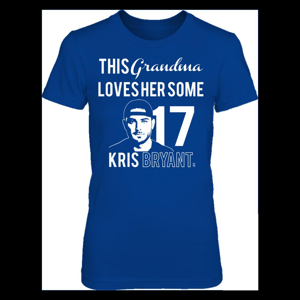 Grandmas Love Kris Bryant Too! Front picture
