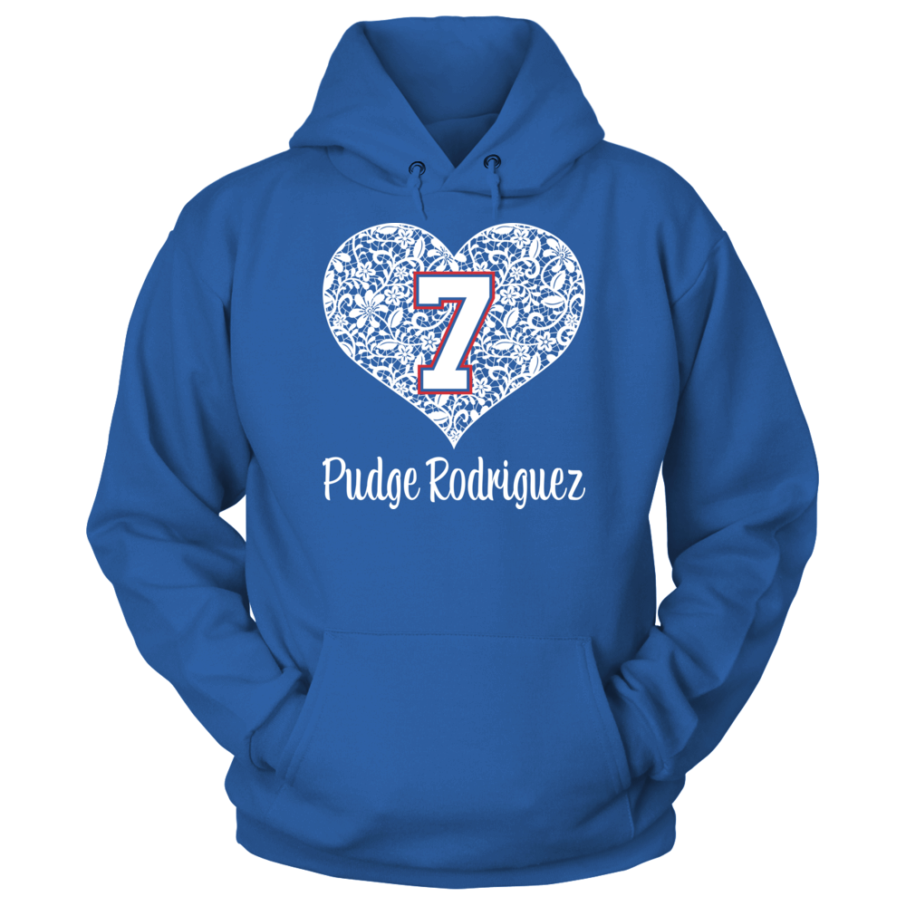 Pudge Rodriguez - Lace Heart Front picture
